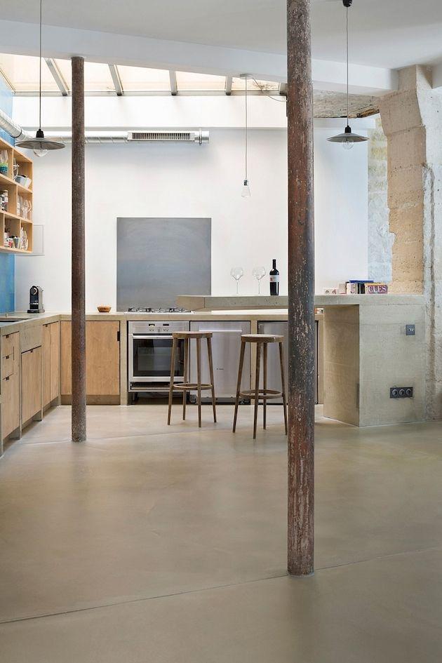 Loft Architektur architektur stylisches loft in alter werkstatt klonblog