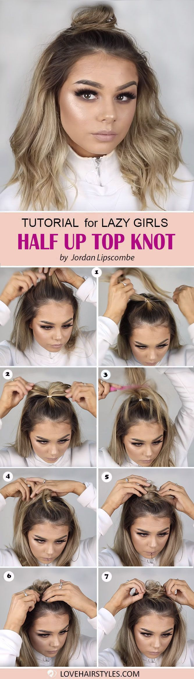 Easy hairstyles for medium hair exist u lazy ladies it is time to
