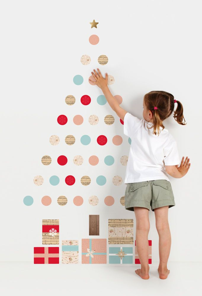 christmas wall sticker combos ~ tinyme.au | xmas | pinterest
