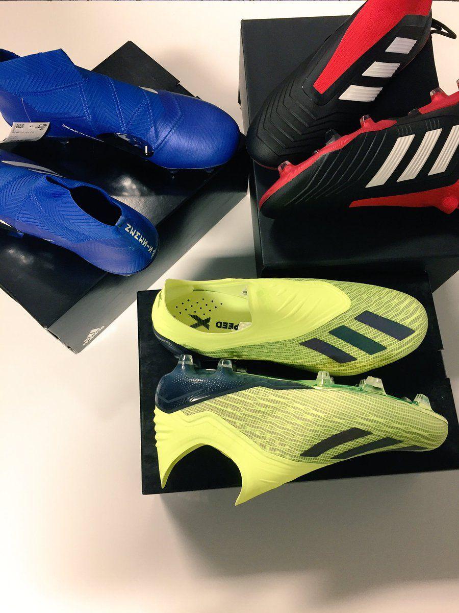 fe7f1081b Introducing Team Mode pack from adidas Soccer. At SoccerPro. #nemeziz # predator #x18 #heretocreate