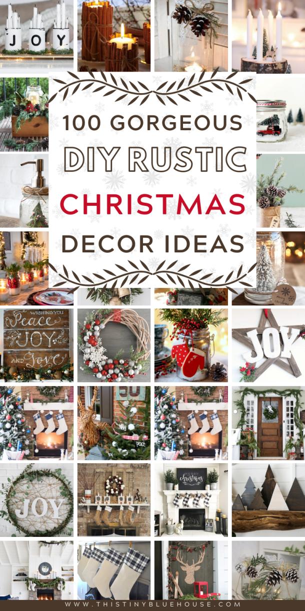 100+ Best Stunning DIY Rustic Christmas Decor Ideas