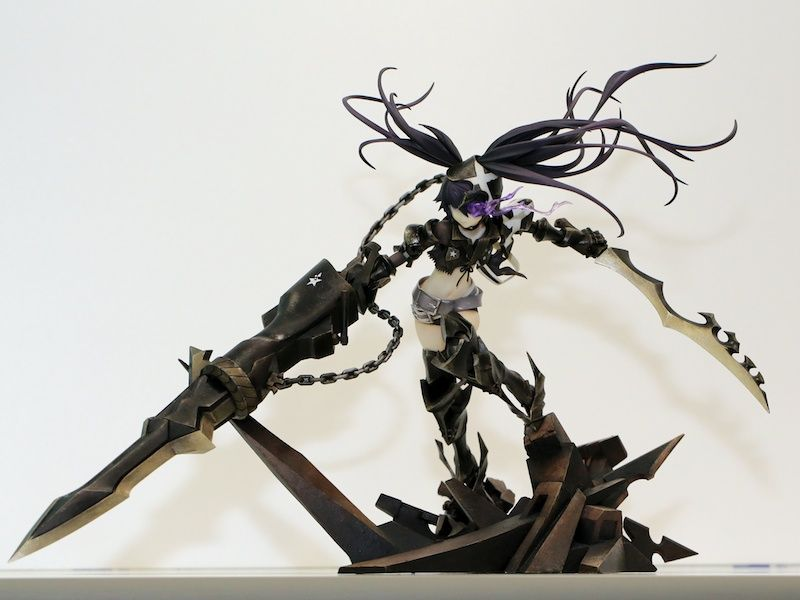 [TV Animation BRS] 1/8 Insane Black Rock Shooter #actionfigure