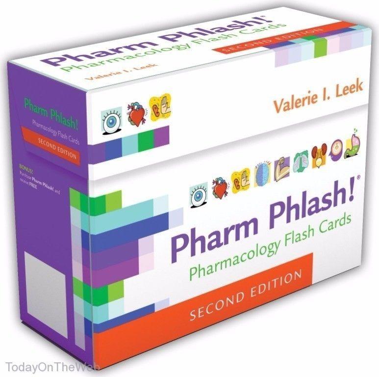 Pharm Phlash Cards!: Pharmacology Flash Cards (New Boxed Set ...