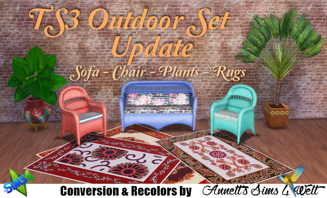 TS3 Outdoor Set Update by Sims 4, Sims, Welt