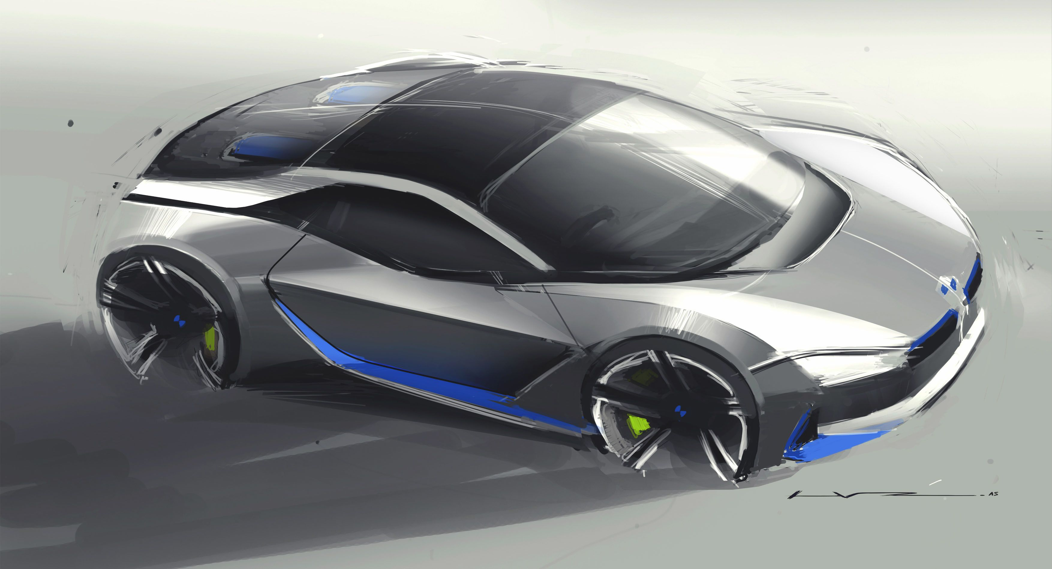 Bmw I Sketch Iddesign Bmwidesign Bmw Cardesign Concept