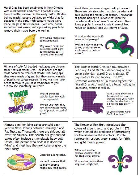 mardi gras lesson plan - Google Search   Kindergarten