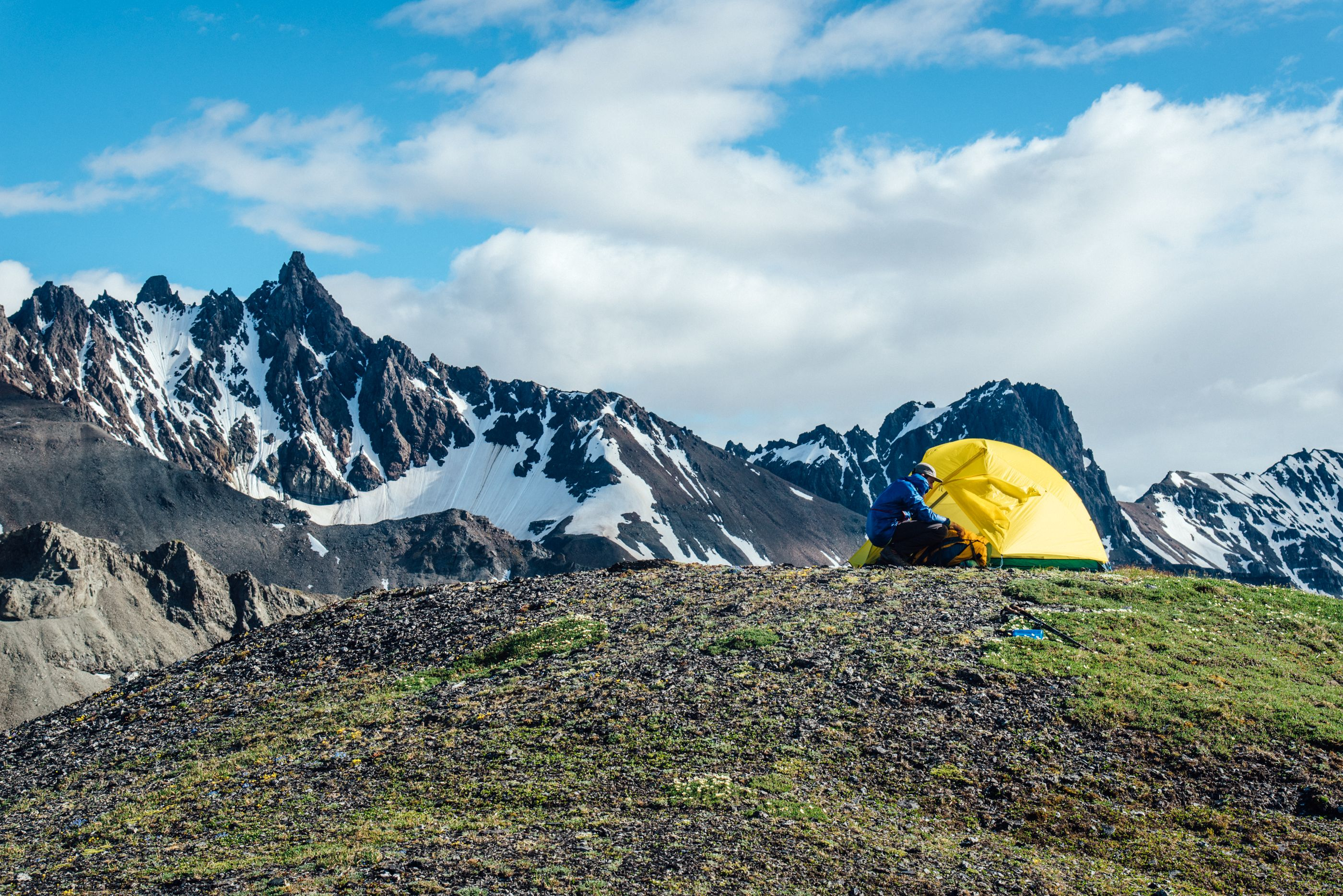 Enter to win a trip for 2 to Alaska + Gear package from Cotopaxi, Lifestraw, Cairn, Proof Eyewear, Munk Pack, the Dyrt, Wilderness Culture, and Alaska Airlines.