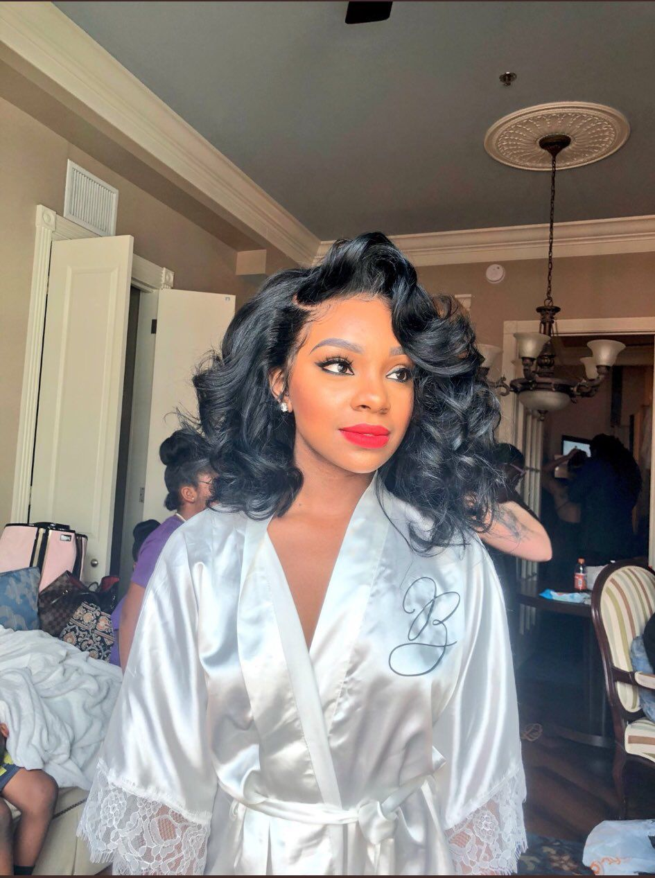 wedding hair | xo in 2019 | black wedding hairstyles, bridal