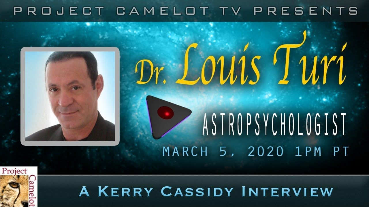 DR. LOUIS TURI ASTROLOGER.AND ASTROPSYCHOLOGIST in 2020
