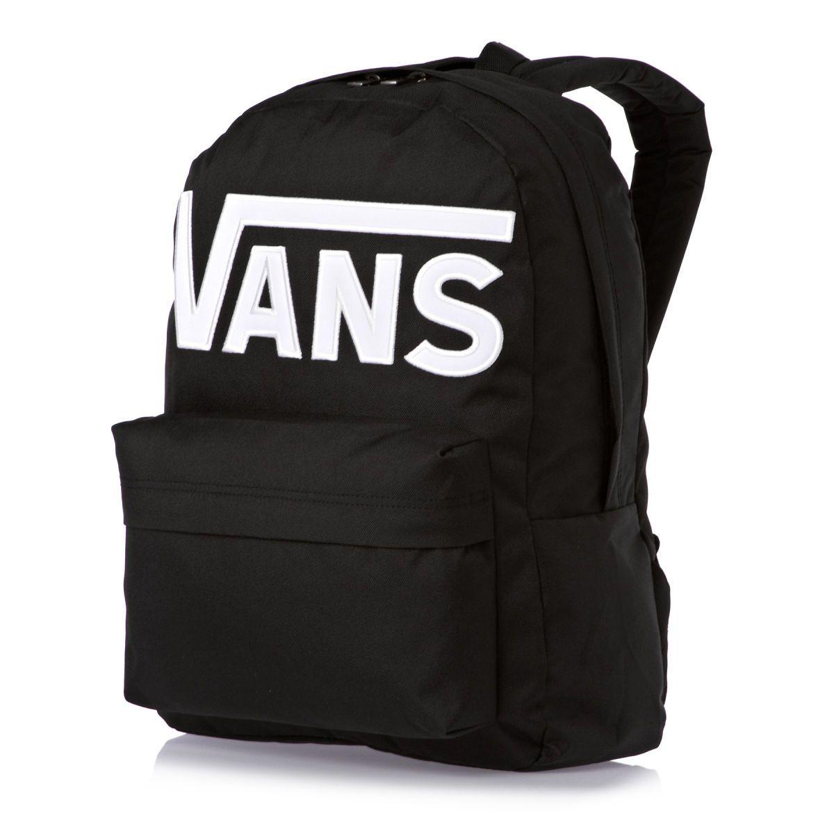 5d2a2a367b17 Vans Old Skool II Backpack - Black White