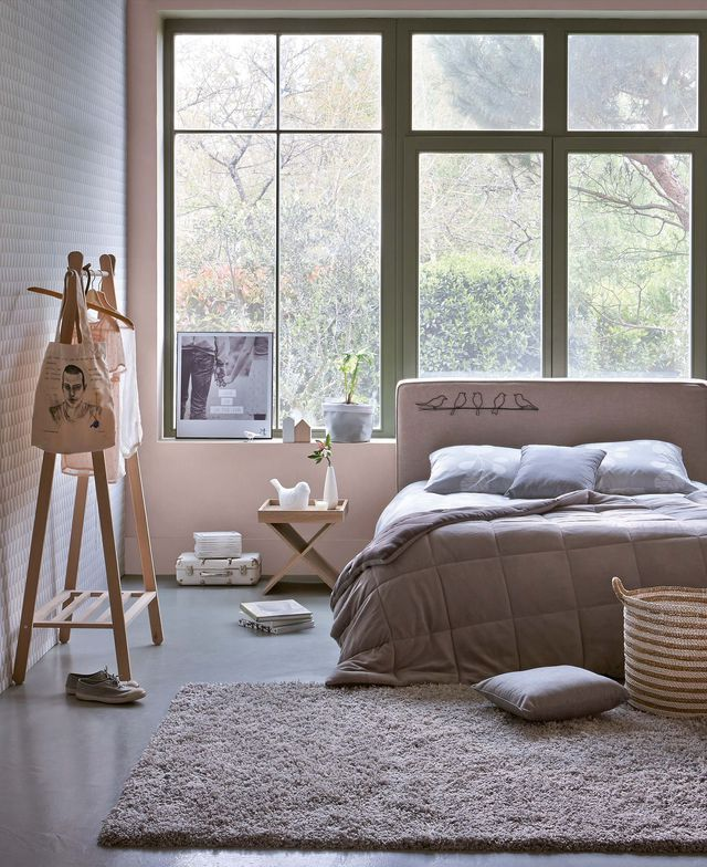 d co chambre cocooning cosy panneaux de particules. Black Bedroom Furniture Sets. Home Design Ideas