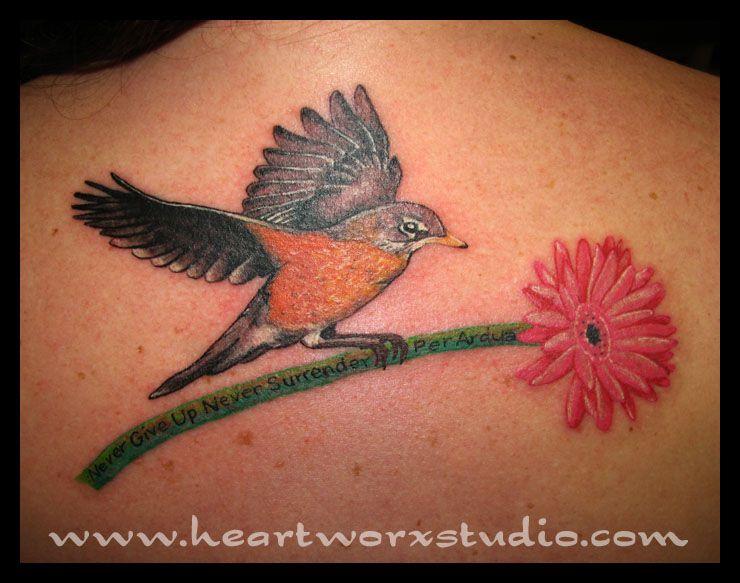 Tattoo Ideas? on Pinterest | Robin Tattoo, Robins and ...