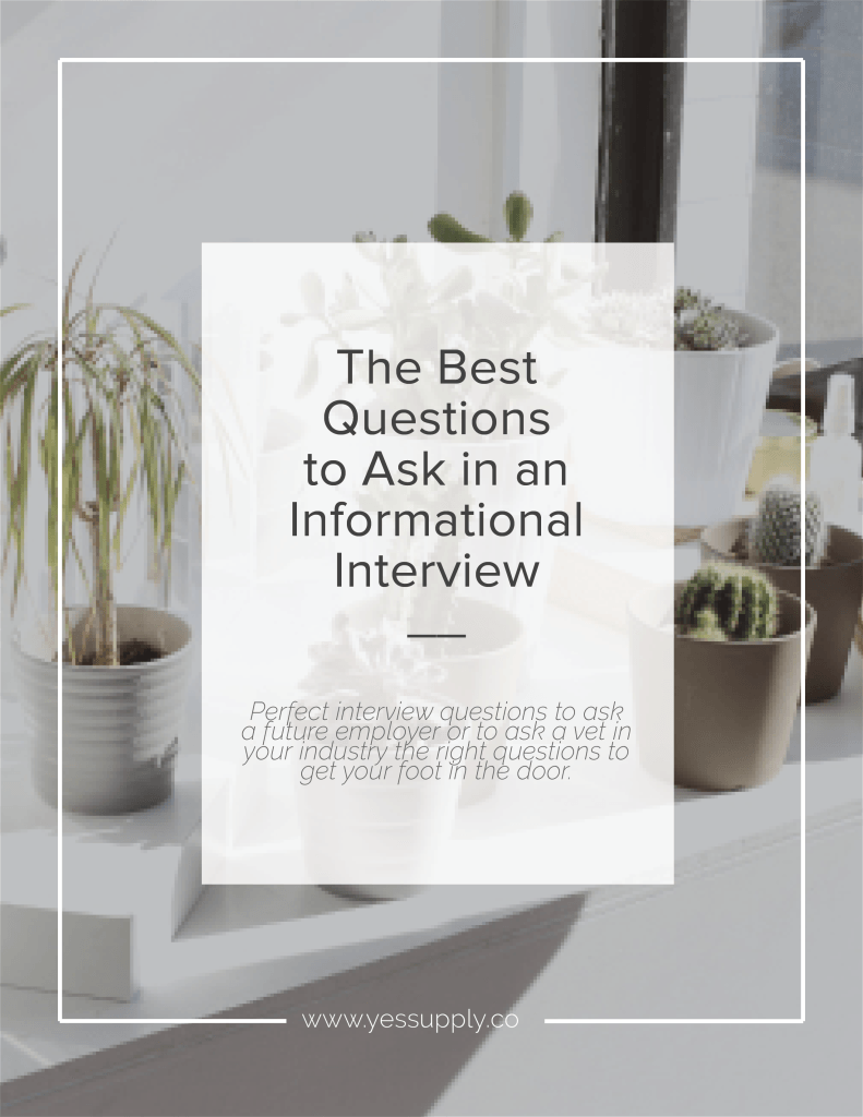 the best questions to ask in an informational interview a well when you re looking to explore a new industry or prospect a new career sitting down a seasoned vet for an information interview is a great first place