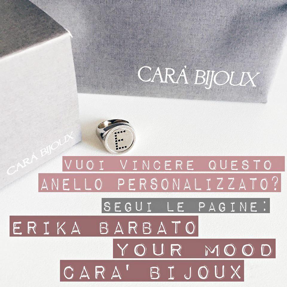 Volete vincere questo anello?  Passate sulla mia pagina fb della fashion blogger Erika Barbato per scoprire come fare