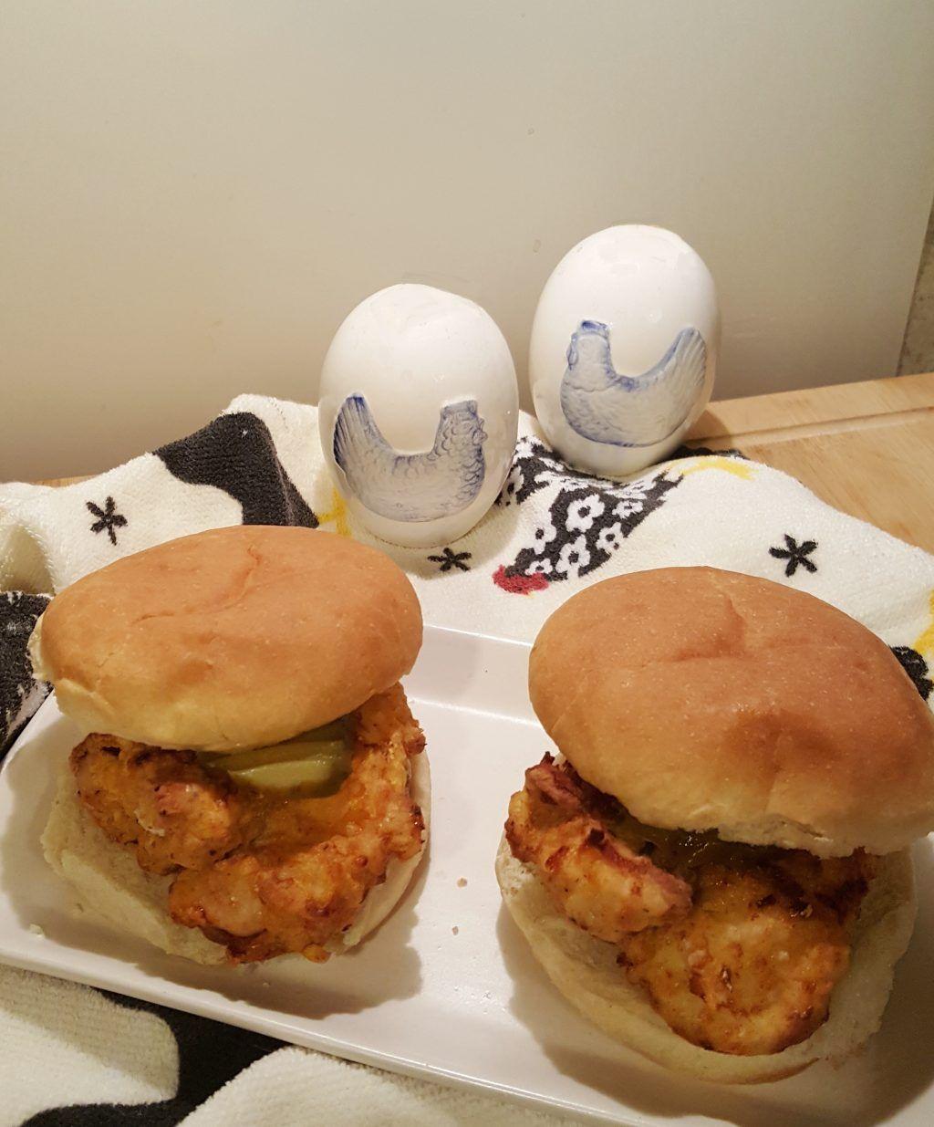 Air Fryer ChickfilA Chicken Sandwich Image Air fryer