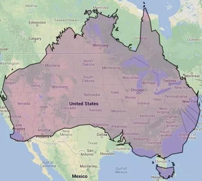 Tomtom Australia Map 915.Map Of America Over Australia Twitterleesclub