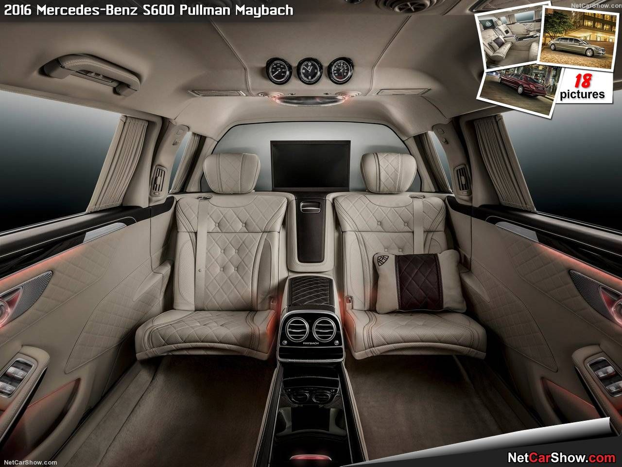 2018 maybach s600 interior. brilliant s600 mercedesbenz s600 pullman maybach 2016  picture 16 of 18 interior and 2018 maybach s600 interior