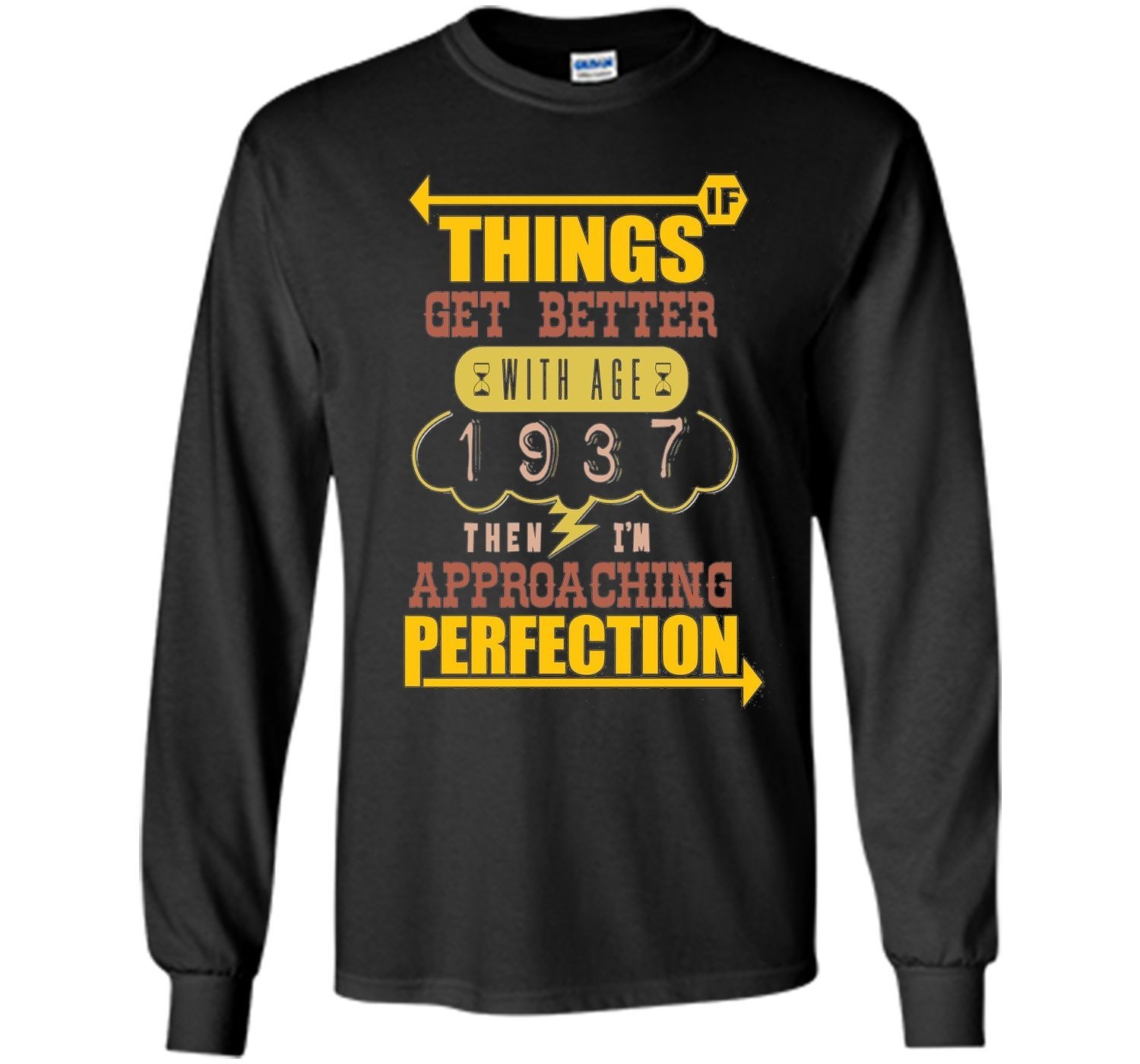 Perfect Age Made In 1937 79th Birthday 79 Years Old Shirt