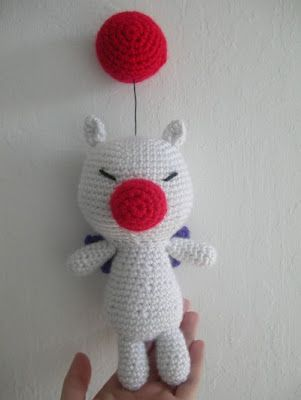 Moogle Pattern | Crochet my World | Pinterest
