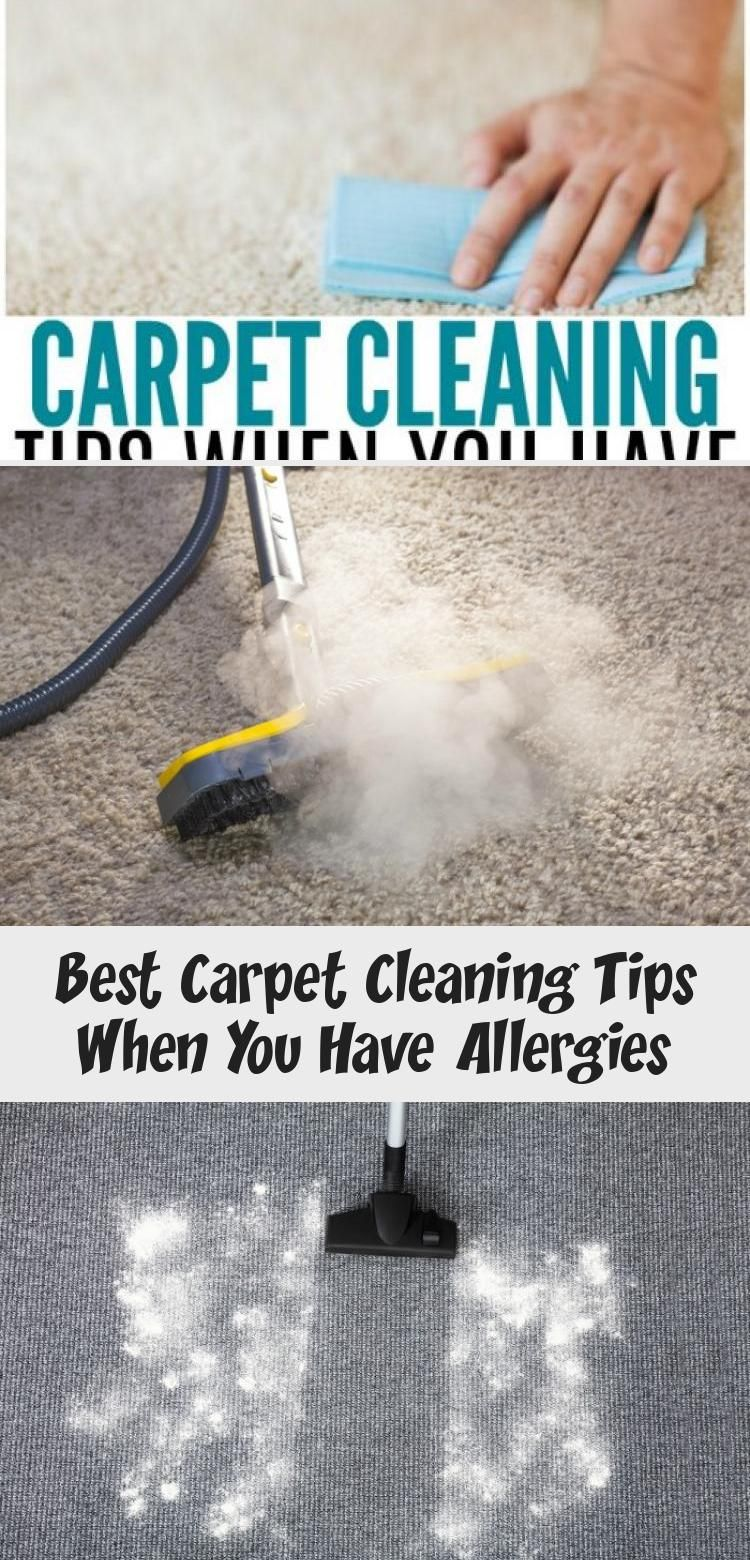 If You Or Someone In Your Home Struggles With Allergies You Know It Can Be A Chore Trying To Stay On In 2020 Carpet Cleaning Hacks Cleaning Hacks How To Clean Carpet