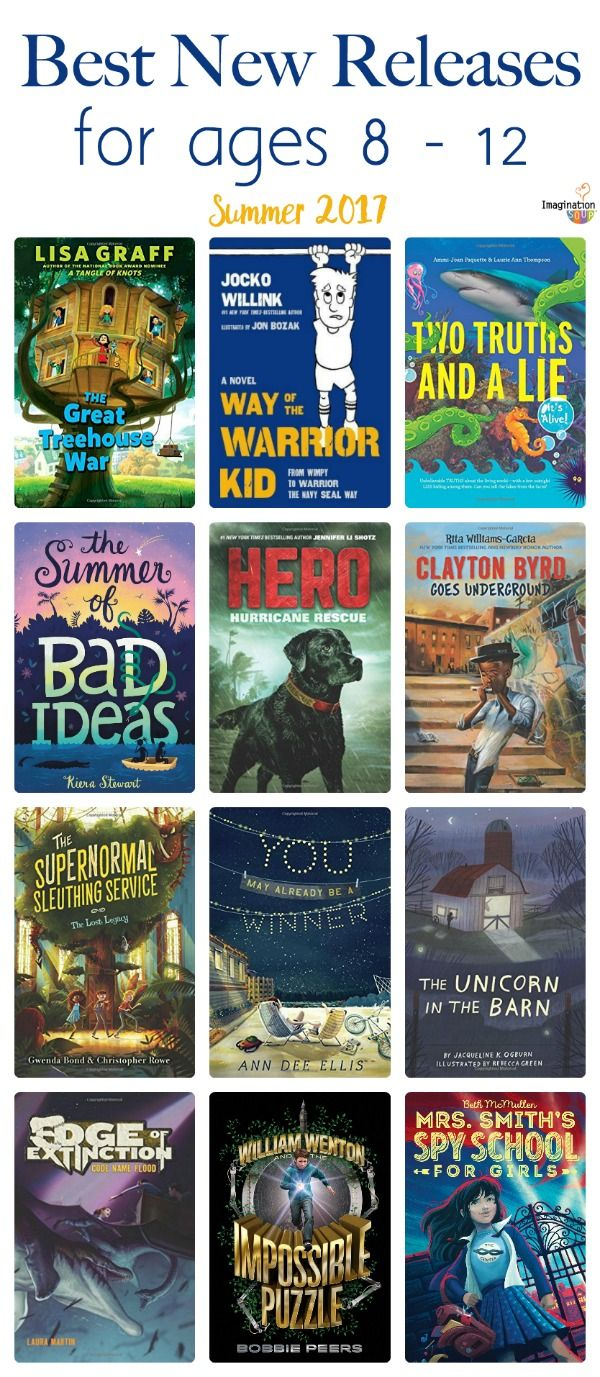 64a5f0581a27aa Summer 2017 New Releases for Ages 8 – 12 Years Old