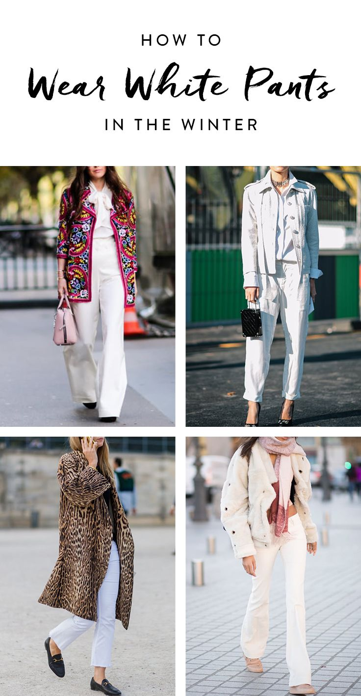 9 New Ways To Wear Your White Jeans This Week