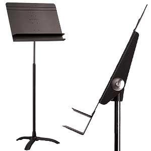 Manhasset Orchestral Music Stand, Auto-Adjust., Black at Johnson String Instrument