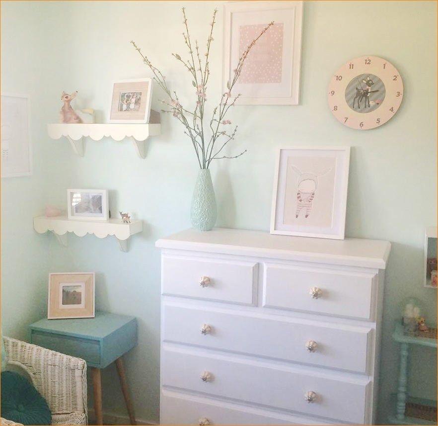 Clever organize floating bookshelves nursery baby