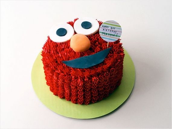 Elmo 1st birthdaysmash cake Jessica McGee reminds me of the one