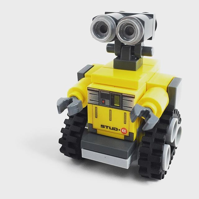 Stude Now Available At Thebrickshowshop Lego Walle Jesper
