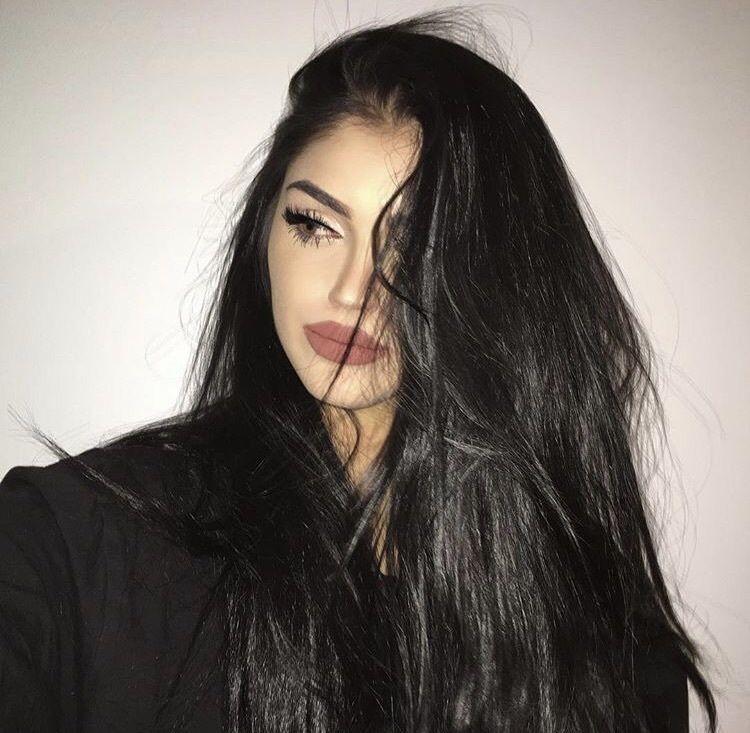 Rintyeryeѕt Alryeadutakyenxs Gina Lorena Dunkle Haare Haare Und Beauty