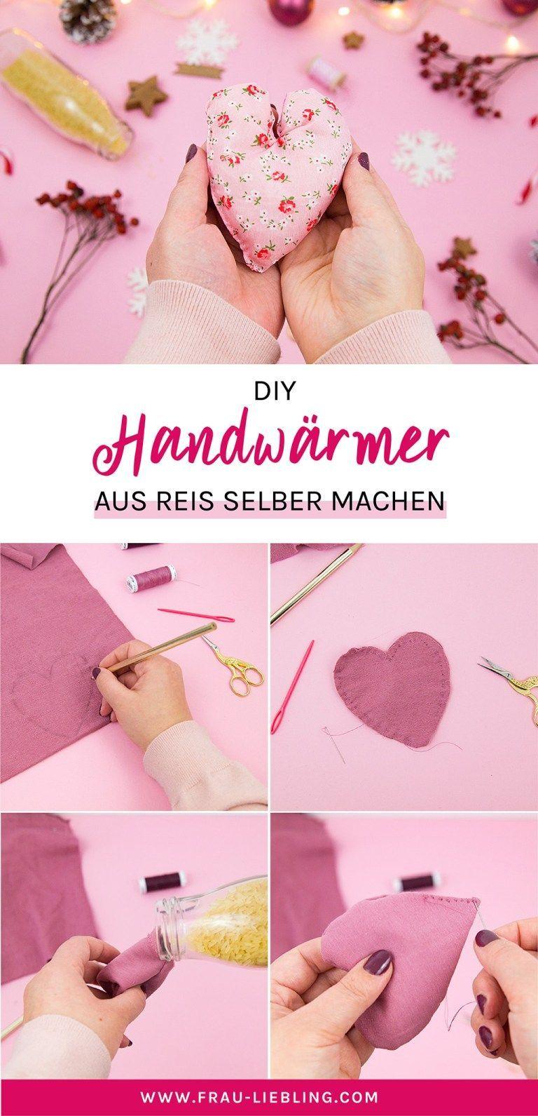 DIY Handwärmer selber machen – Nie mehr kalte Hände - My Blog #nikolausgeschenkeselbermachen
