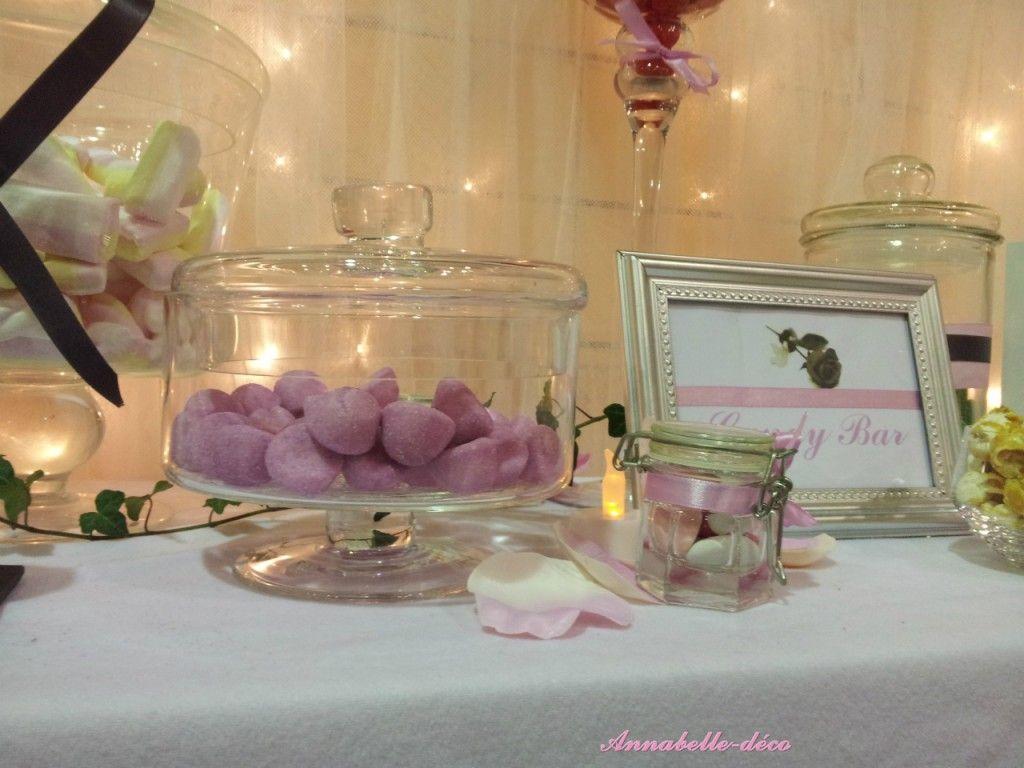 Annabelle deco mariage rose poudr gris perl - Deco rose poudre ...