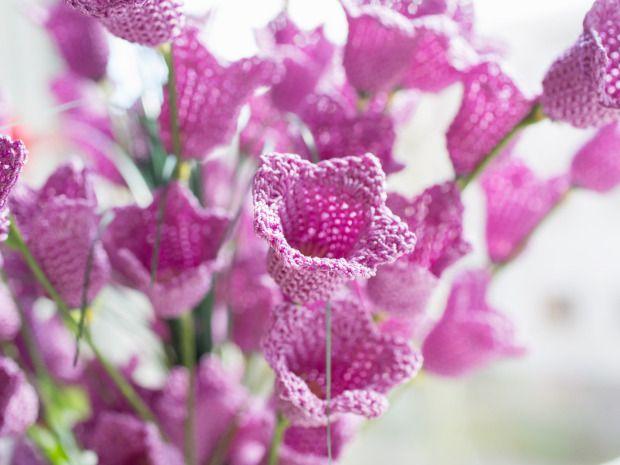 Voiko tämä olla totta? Nämä kukat ovat virkattuja – katso kuvat - Käden työt - ET