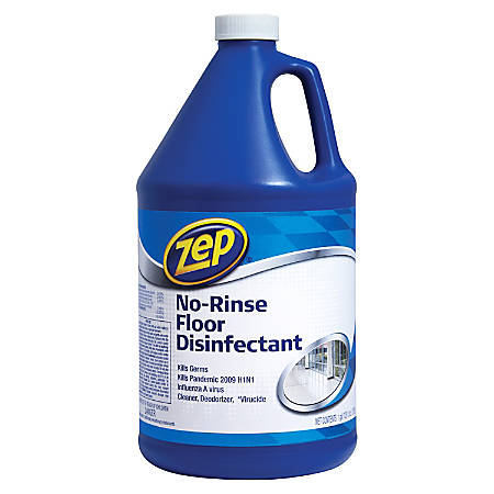Zep Commercial No Rinse Floor Disinfectant 128 Oz Item 898926 In 2020 Floor Cleaner Flooring