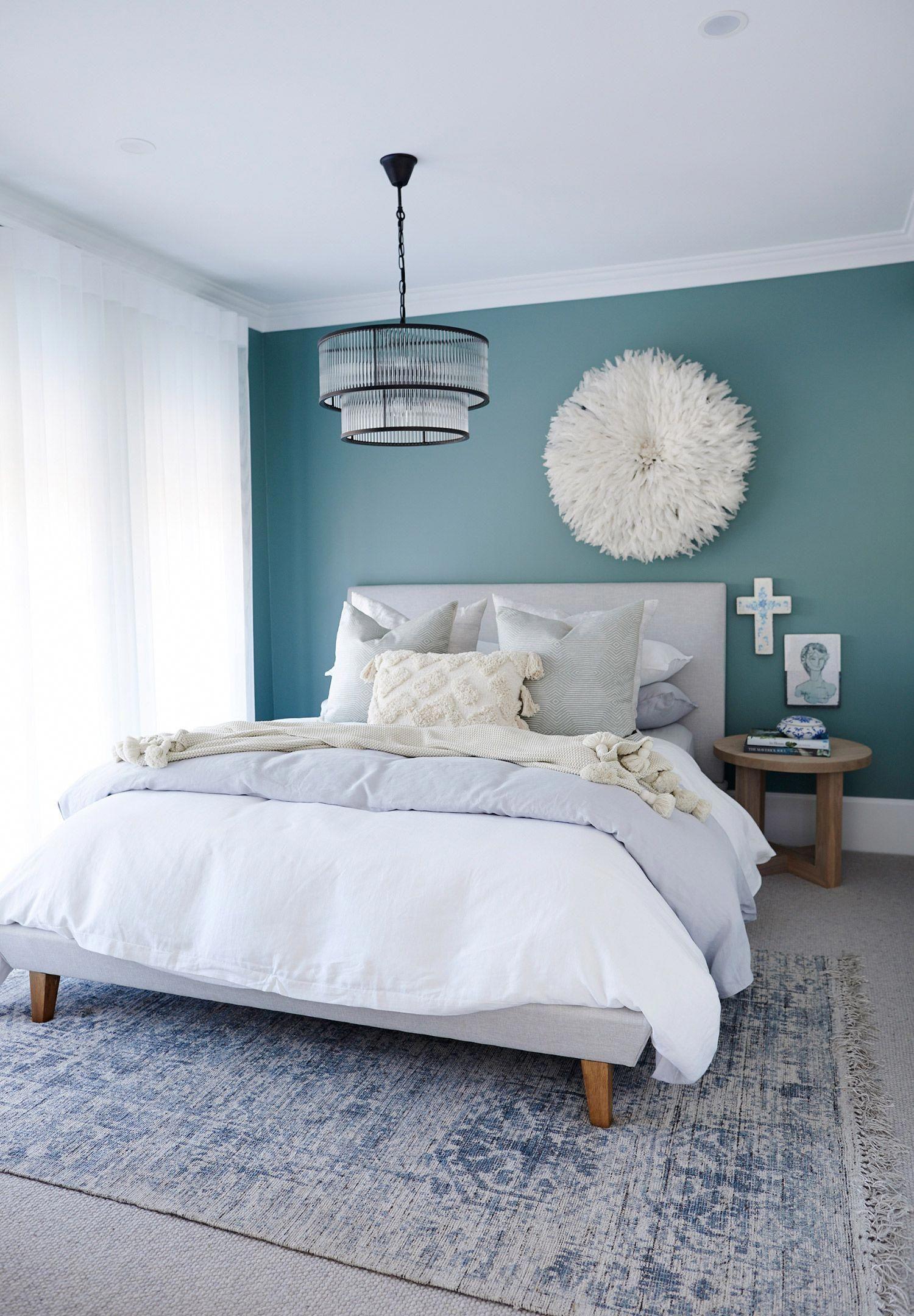 beachbedroom  teal bedroom walls master bedroom colors