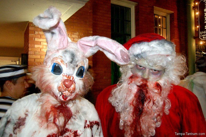 Who Says Guavaween Is Only For Halloween A Bloody Easter Bunny And
