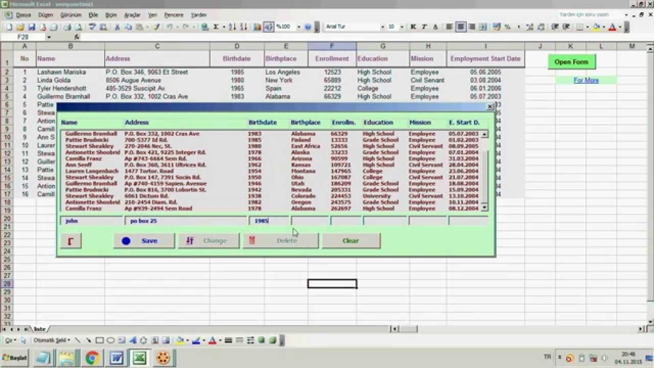 Excel Userform With Scrollbar And Slider Wonderful UserForm with ...