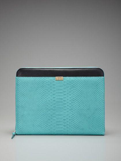 luxurious laptop case   #dianevonfurstenberg #gilt