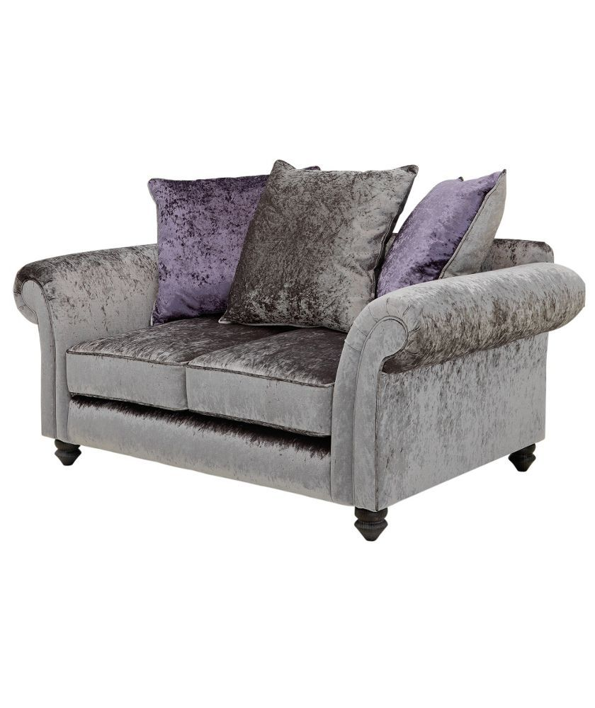 Leather Sleeper Sofa Buy Manhattan Seater Sofa Scatter Back Sofa Charcoal at Argos co uk