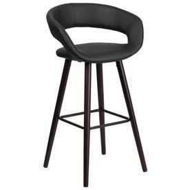 Flash Furniture Brynn Series Black Bar Stool 889142045212 Bar