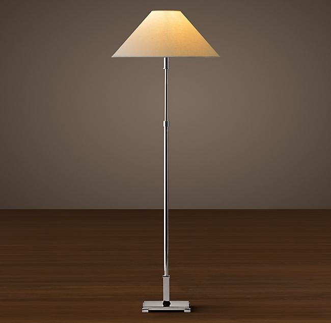Classic Candlestick Floor Lamp 7 Sq 49 69 H Lamp Floor Lamp Lamps Living Room