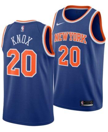 Nike Men's Kevin Knox New York Knicks Icon Swingman Jersey