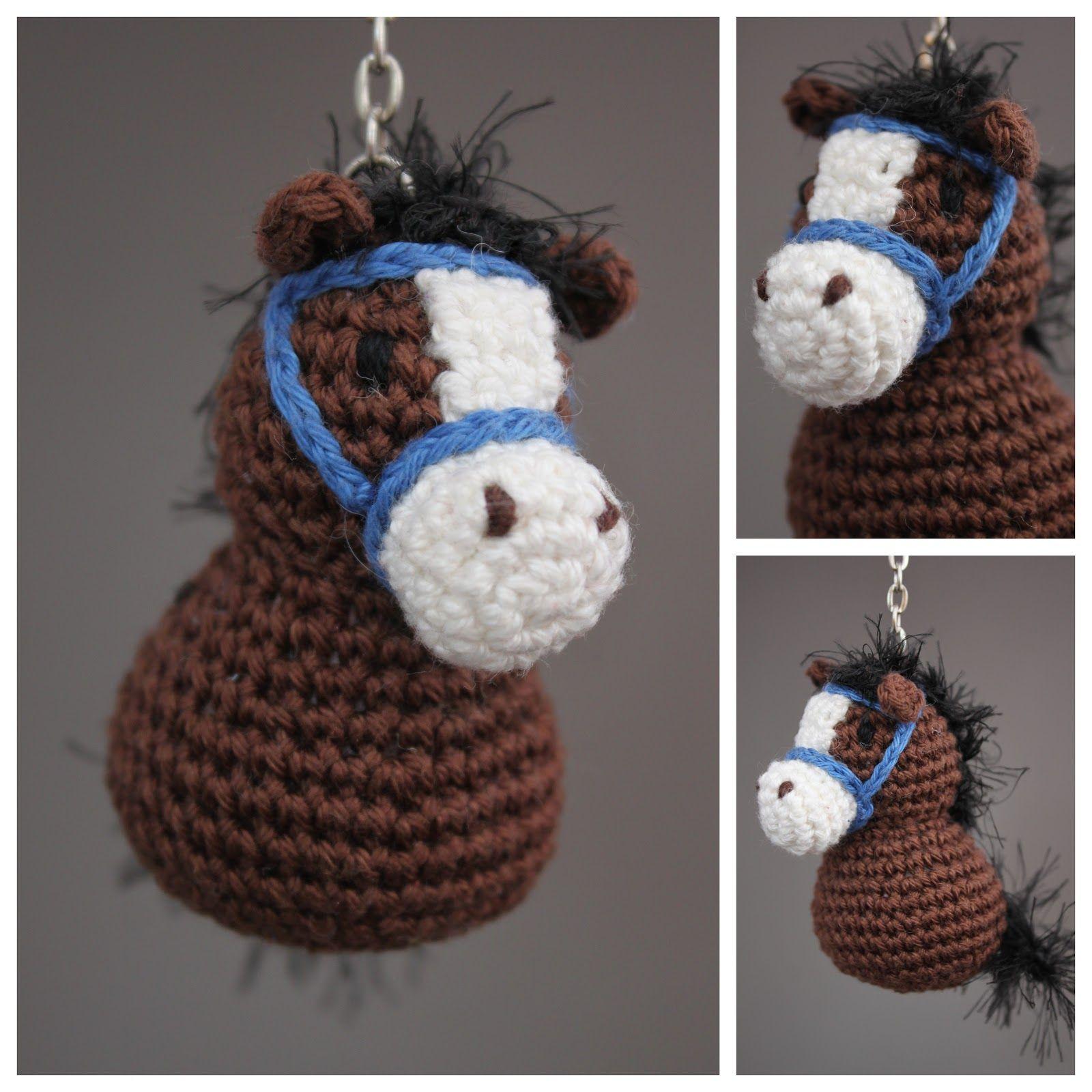 Gehaakt Gelukspaardje Patroon Uit Gelukspoppetjes Haken Crochet