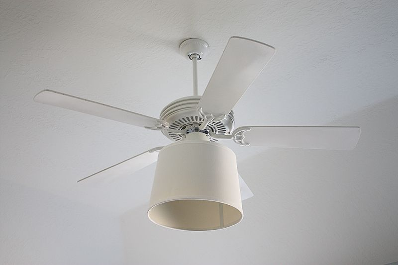 Give Your Outdated Ceiling Fan Light Fixture An Upgrade