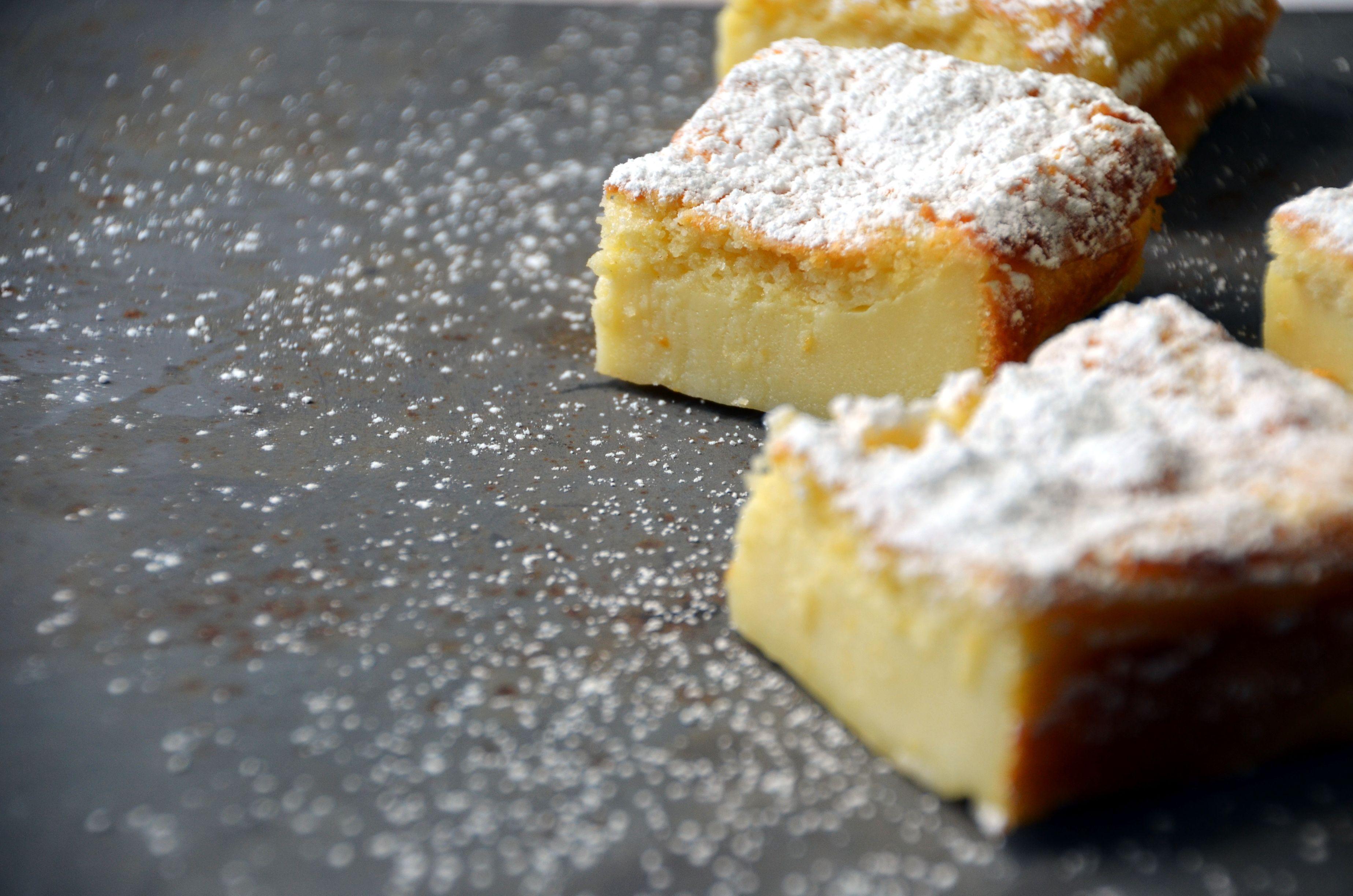 Apple praline bread recipe magic custard cake custard
