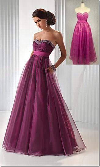 Vestidos de noche 2015 df