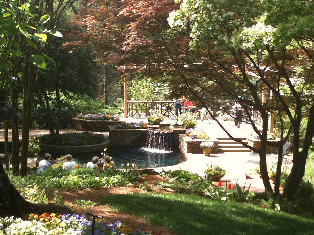 Gibbs Gardens in Ball Ground, Georgia. \