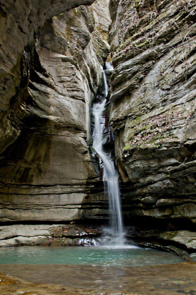 Chutes Victoria: Thunder Canyon Falls On Cecil Creek, Buffalo National
