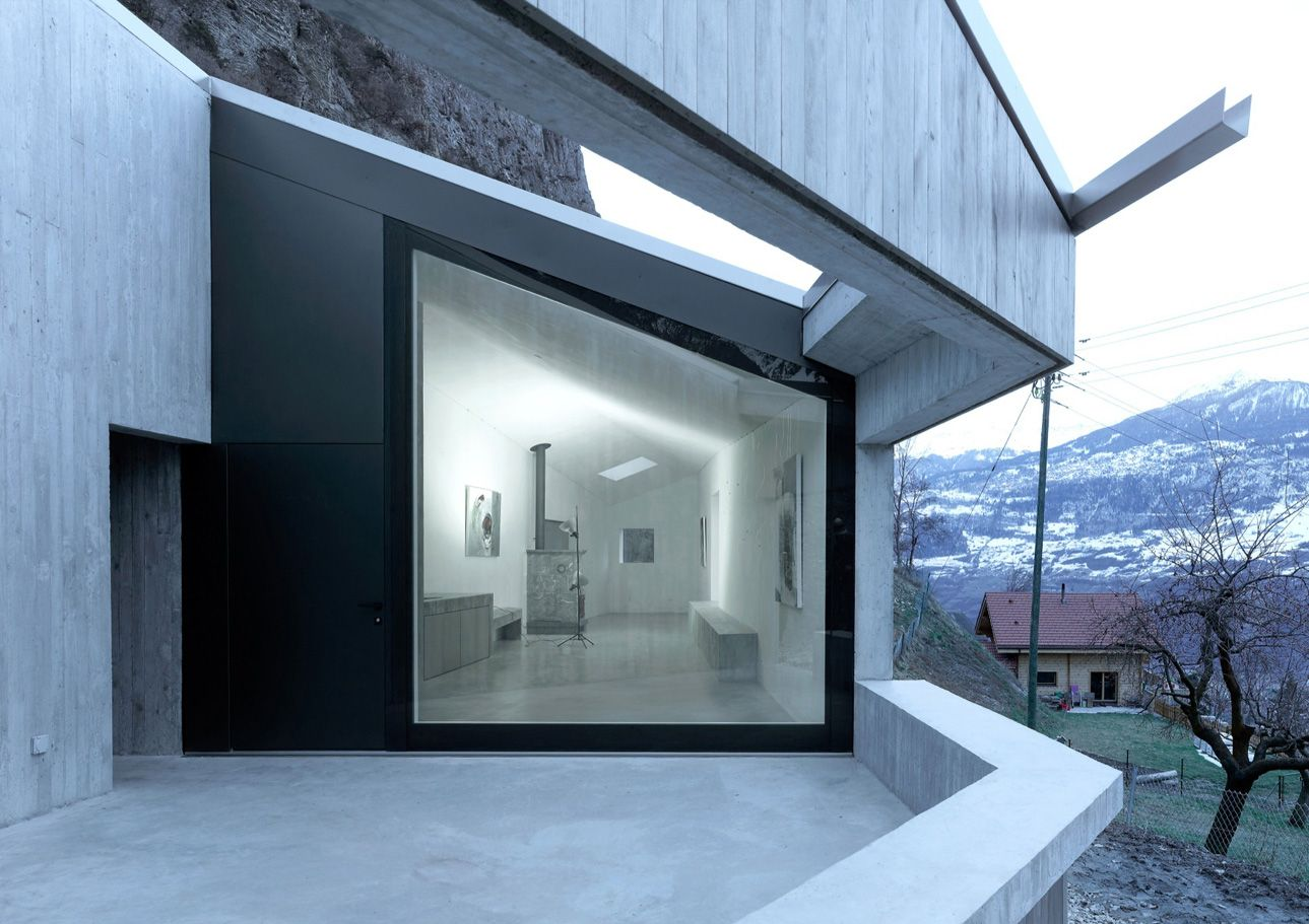 An Architect\'s Holiday House in Valais, Switzerland | Architects ...